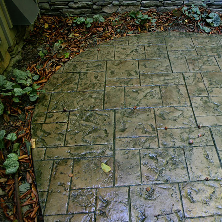 Stamped Patio - S21